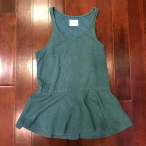 Urban Outfitters Pins and Needles Peplum Top Small
